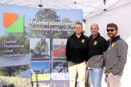 My Generation Energy OysterFest Sponsor booth