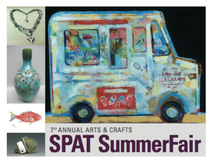 Postcard image for seventh annual SPAT SummerFair July 2015