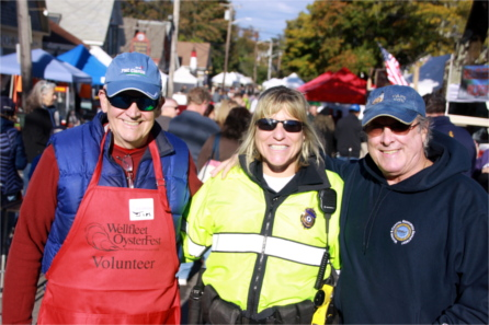 Volunteer with Wellfleet SPAT for the annual Wellfleet OysterFest